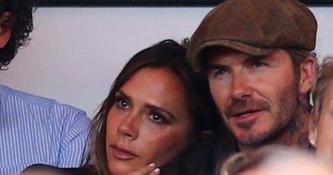 David Beckham and Victoria Becham