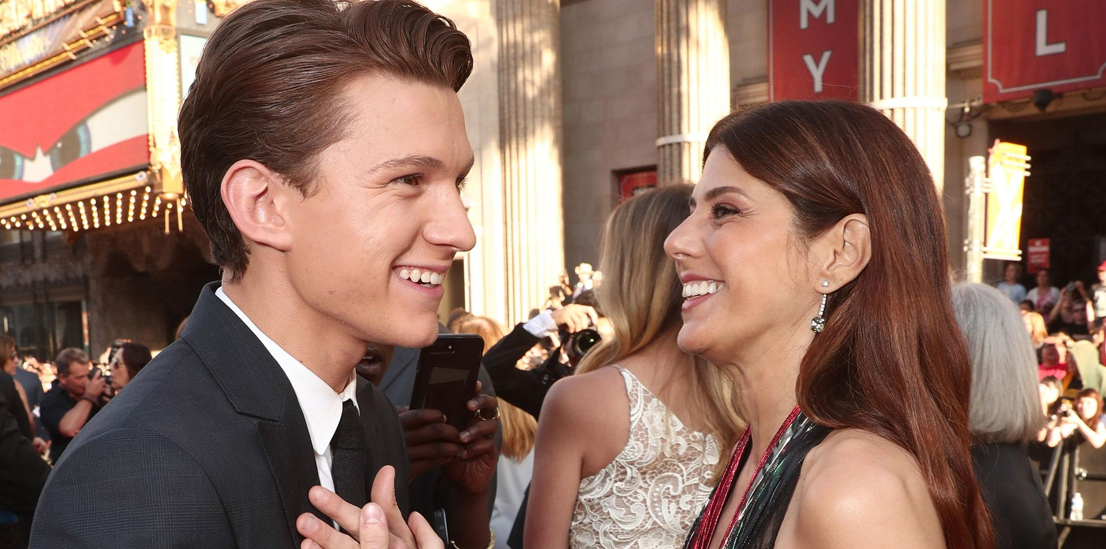 Tom Holland Crush Marisa Tomei Spider Man Long
