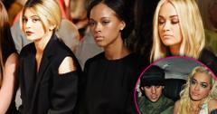 Rita ora rob kardashian kylie jenner feud nyfw