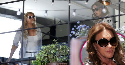 Caitlyn jenner lunch date candis cayne