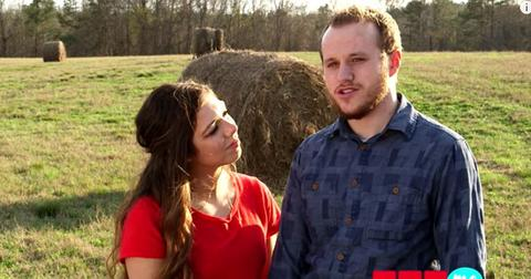 Josiah duggar wife lauren crying shocking photo pp