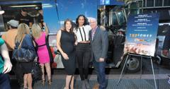 Tom, Padma and Gail at the Top Chef Food Truck event