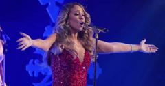 Mariah Carey first performance for her Christmas show in three different outfits at the Beacon Theater in NYC