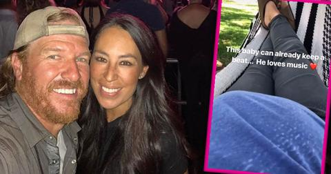 Joanna Gaines Pregnant Baby Loves Music Pic PP