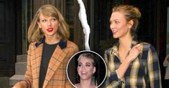 Karlie kloss backstabs ex bff taylor swift hangs out katy perry