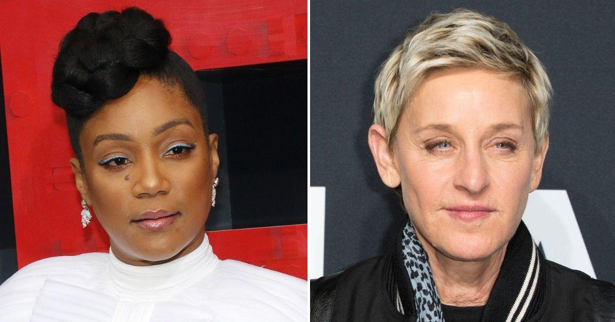 tiffany haddish top of list talk show ellen degeneres show cancelled