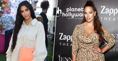 Kim kardashian joins ashley graham podcast main