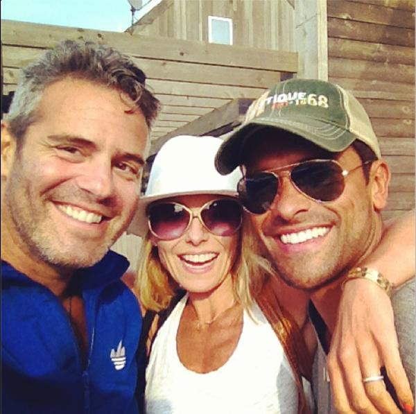 Andy Cohen Kelly Ripa Mark Consuelos