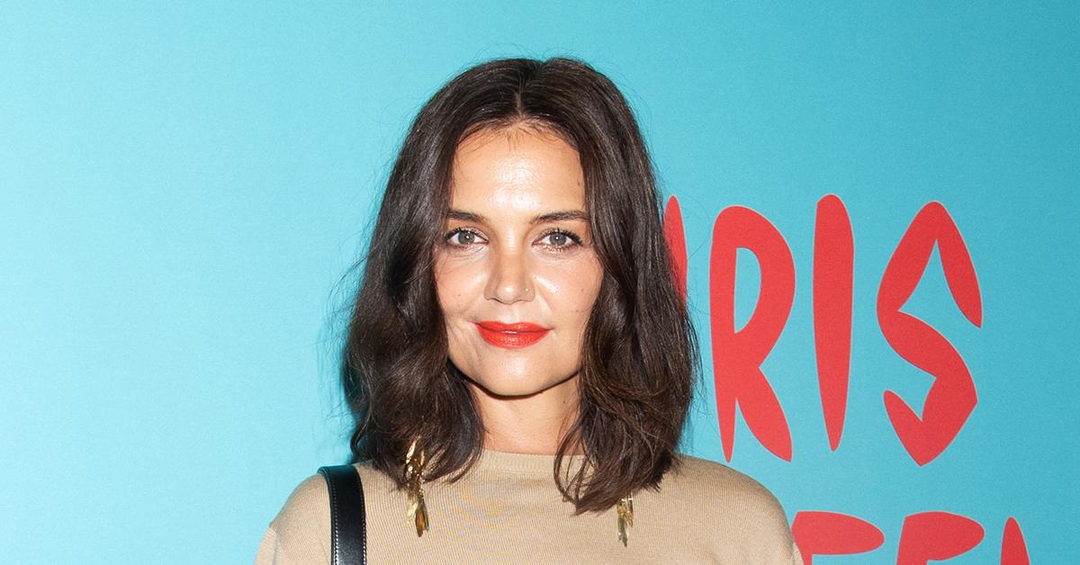 katie holmes has sworn off men for the time being in order to concentrate on her career