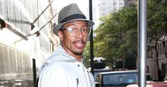 Actor, comedian and media personality Nick Cannon spotted leaving 'Good Day New York'
