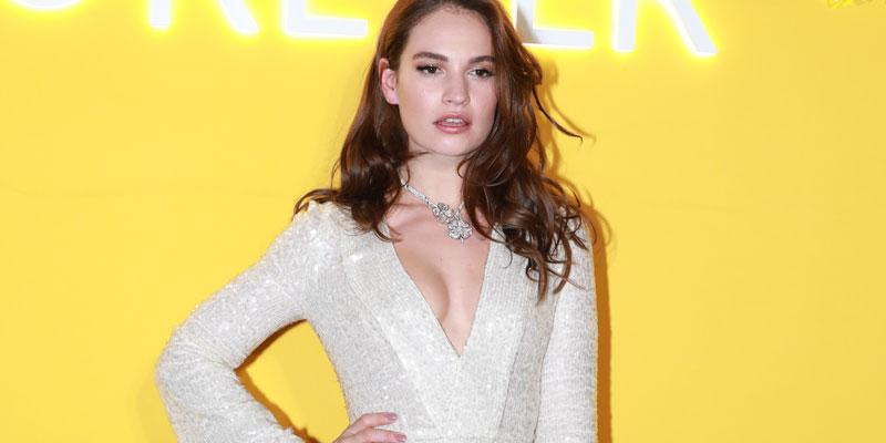 Lily james pp