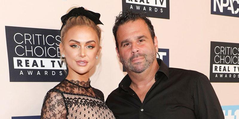 Randall Emmett And Lala Kent On Red Carpet