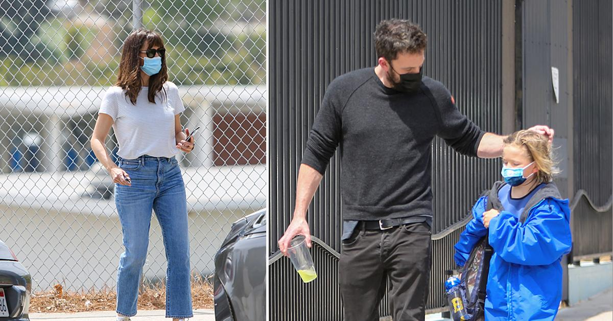 ben affleck and jennifer garner take son samuel to swim lesson