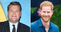 james corden carpool karaoke prince harry hollywood