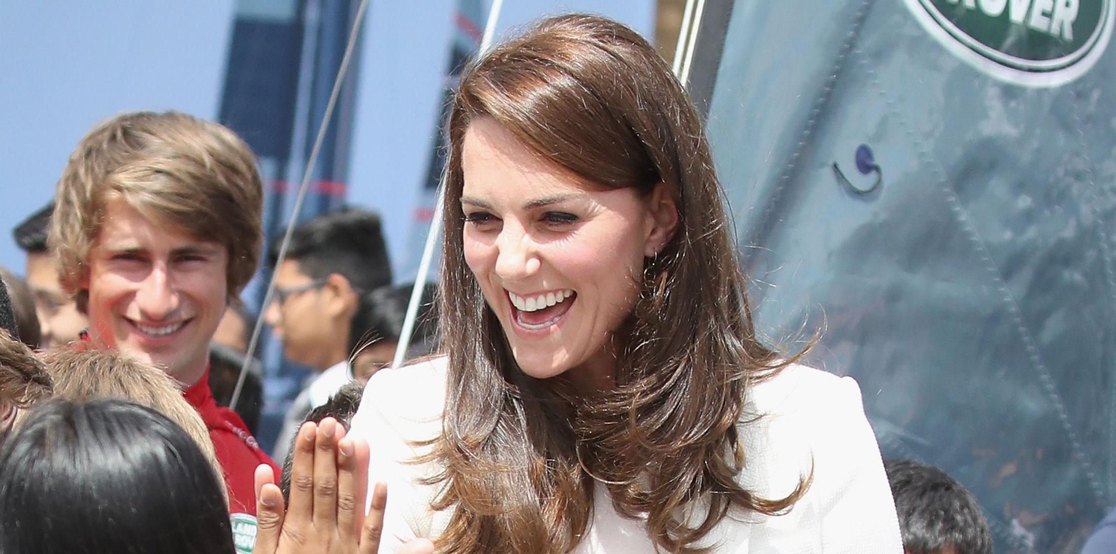 Kate Middleton Children London Photos Long