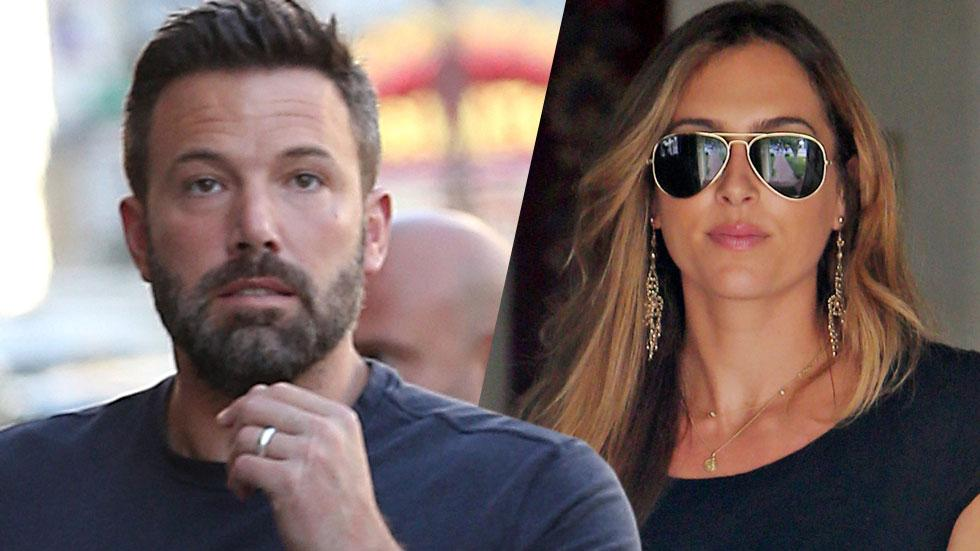 Christine ouzounian new car ben affleck paying