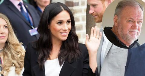 Meghan markle dad didnt attend first wedding pp