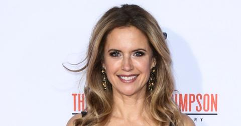 Kelly Preston Wearing Her Hair Down At a Carpet