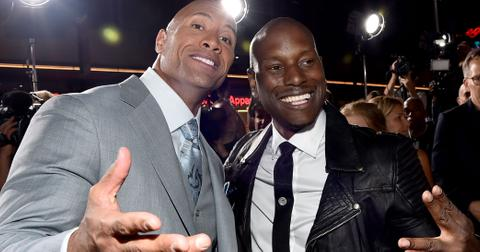 The rock tyrese instagram fight wide