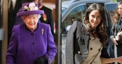 meghan markle overnight trip with the queen details pp