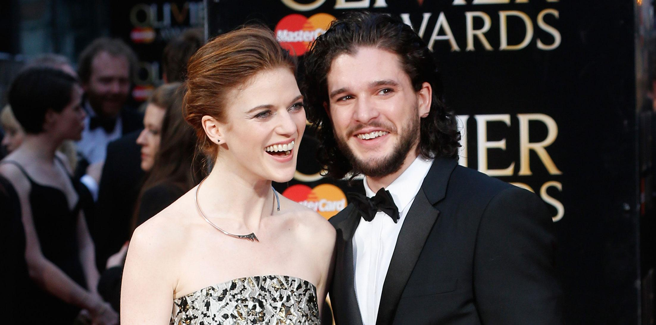 game thrones kit harington rose leslie engaged long