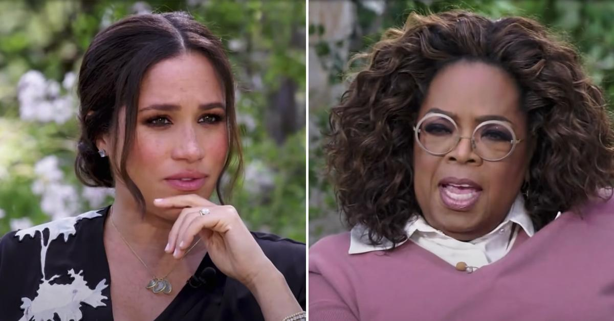 meghan markle the crown perpetuated falsehoods oprah winfrey interview pf