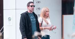 Tarek el moussa dating mystery blonde woman