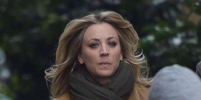 //Kaley Cuoco Filming In Rome PP