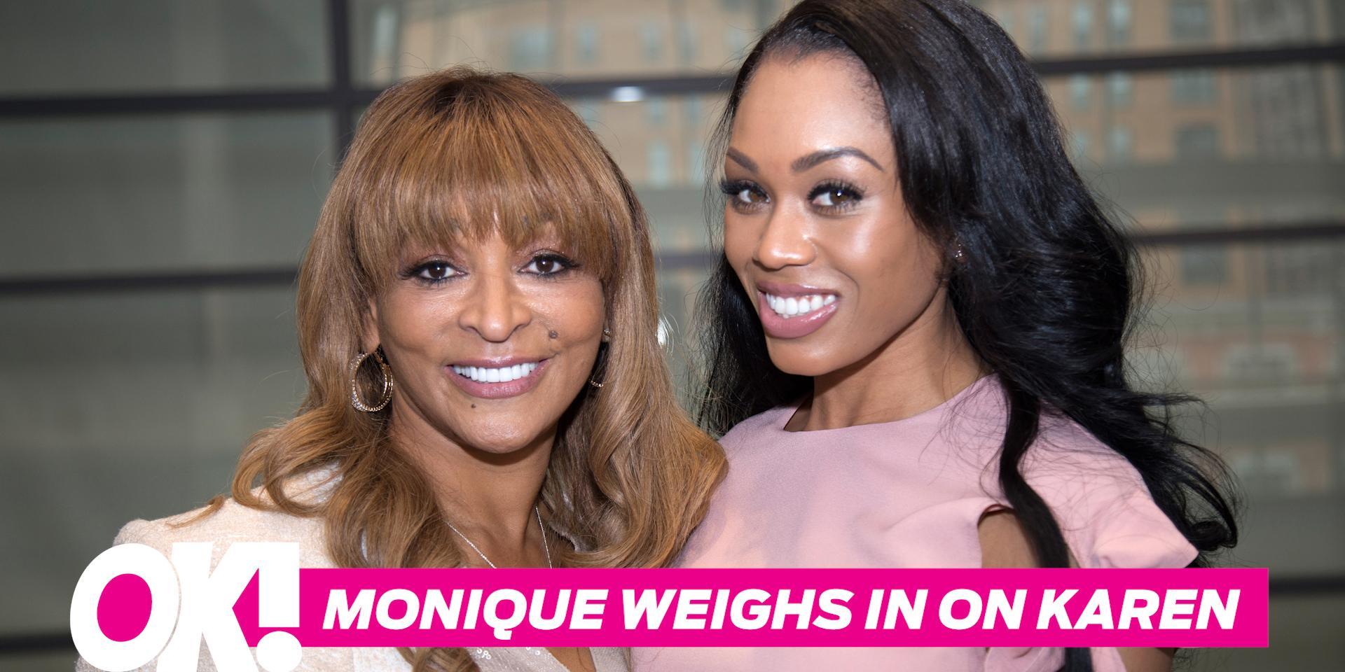 Monique samuels defends karen huger reveals rhop season 3 spoilers hero