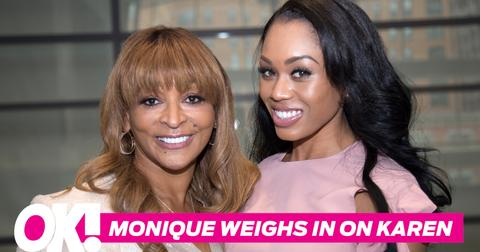Monique samuels defends karen huger reveals rhop season 3 spoilers hero