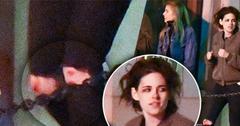 Kristen Stewart Knee Bruises Dating Stella Maxwell