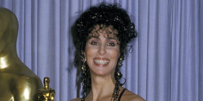 Cher Wins Oscar Award
