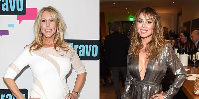 Vicki Gunvalson And Kelly Dodd At Events Fight Reunion