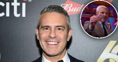 Andy Cohen Breaks His Sobriety Streak On 'WWHL'