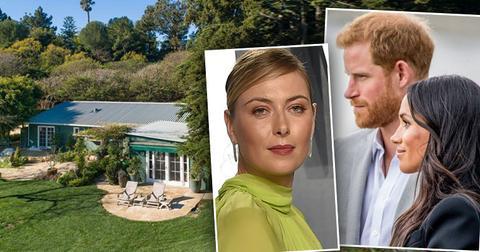 Prince Harry And Meghan Markle Neighbor Maria Sharapova Mansion