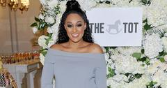Tia mowry emotional message six months pregnant main
