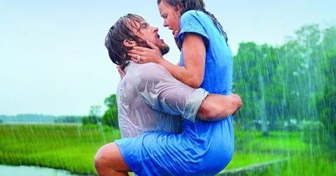 Ryan Gosling and Rachel McAdams in The Notebook