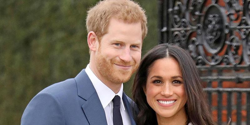 Prince Harry and Meghan Markle announce their engagement at the Kensington Palace