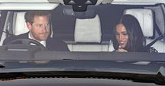 prince harry meghan markle royal christmas lunch queen pics pp
