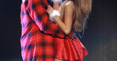Ariana Grande and Big Sean perform at the 2014 KIIS FM Jingle Ball in Los Angeles