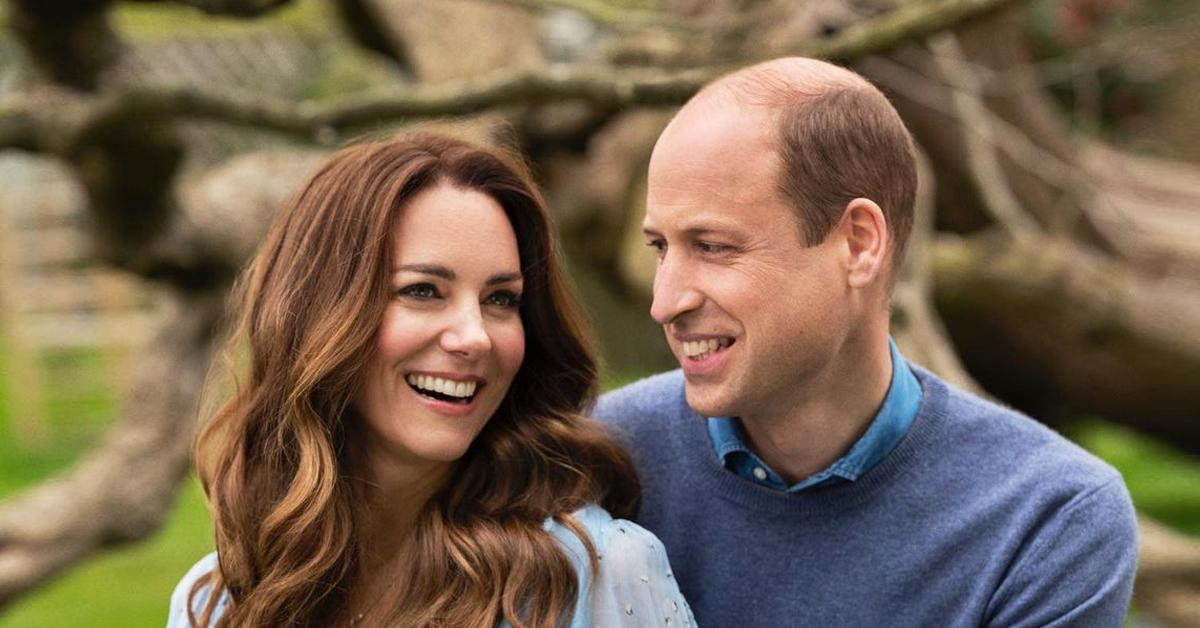 prince william kate middleton new portraits  wedding anniversary