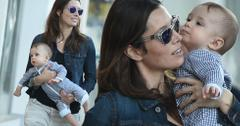 Jessica Biel Baby Silas Randall Walking
