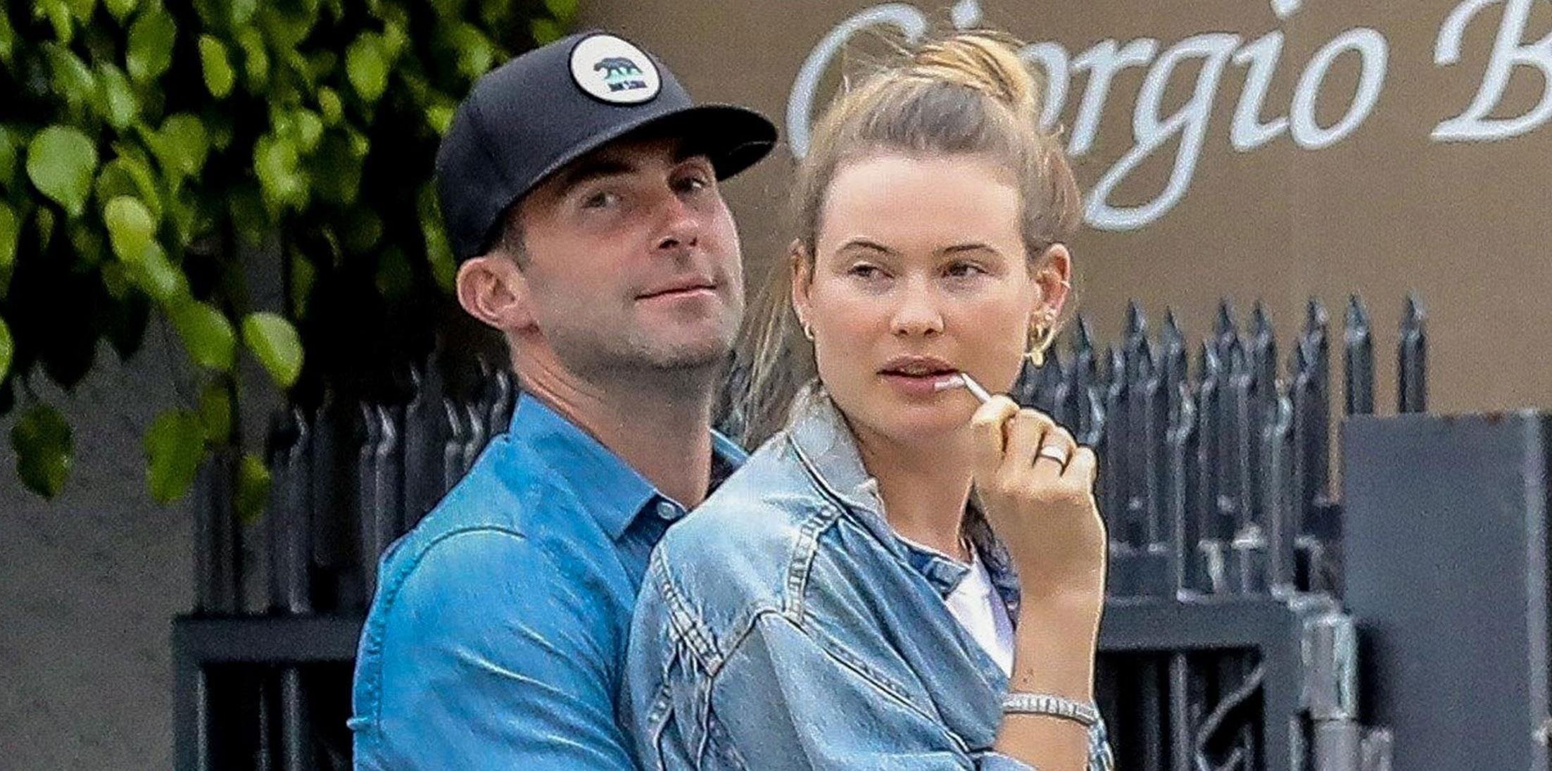 Adam Levine Wife Behati Prinsloo PDA Photos Long