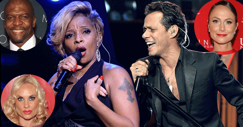 Mary J Blige and Marc Anthony