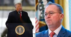 Chief Of Staff Mick Mulvaney Quits, Four Others Walk Out On Donald Trump Following Protests