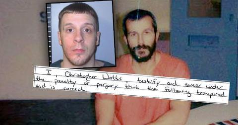 Chris Watts Affidavit about prisoner Dylan Tallman
