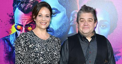 Patton oswalt meredith salenger engaged feature
