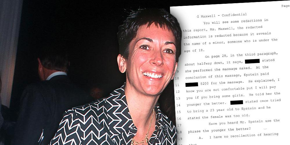 Ghislaine Maxwell Took Topless Pics Of Epstein Victims, Says Staffer