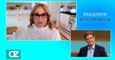 maureen mccormick really hard time pandemic brady bunch dr oz