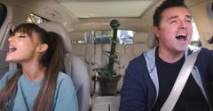 Ariana grande seth mcfarlane carpool karaoke feature